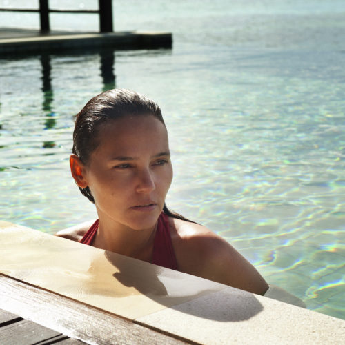 Virginie Ledoyen : Enchanted escape in Maldives