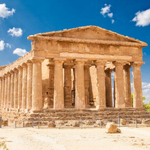 Temple d'Ercole - shutterstock_262055888