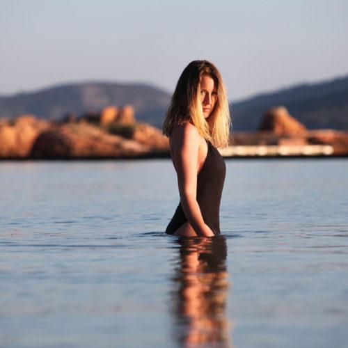 Ludivine Sagnier : Corsican escape in Porto-Vecchio