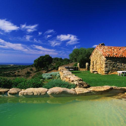 France, Corse du Sud (2A), bergerie A Tiria, Domaine de Murtoli